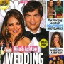 Mila Kunis and Ashton Kutcher Tabloid Cover