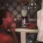 Neil Patrick Harris Waits for a Drink
