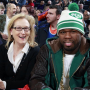 Meryl Streep and 50 Cent
