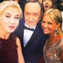 Jared Leto Photobombs Kevin Spacey, Ireland Baldwin & Nancy O'Dell at Oscars