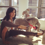 Hilaria-baldwin-does-yoga