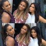 Kim Kardashian Celebrates Impending Ciara Baby, Poses with Pals