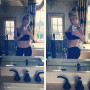 Kim Zolciak Stomach Pics