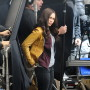 Megan Fox On Set Image