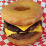 Krispy Kreme Double Cheeseburger
