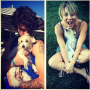 Kaley Cuoco, Dogs