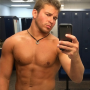 Nathan Grifith Shirtless Selfie
