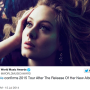 Adele Announces 2015 Album, World Tour