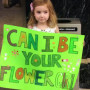 4-Year Old Heads to Town Hall, Offers to Be Any Couple's Flower Girl