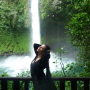 Kim-kardashian-near-a-waterfall
