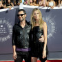 Adam Levine and Behati Prinsloo at the VMAs