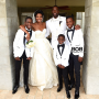 Gabrielle Union Wedding Dress: FIRST LOOK!