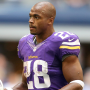 Adrian Peterson on the Vikings