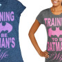 Batman's Wife T-Shirts on Sale at Walmart and Amazon: Sexist or Super?