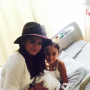 Selena Gomez with Hospital Patient