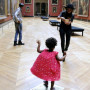 Beyonce, Jay Z and Blue Ivy at the Louvre
