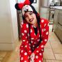 Khloe Kardashian as Minnie Mouse
