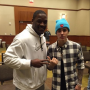 Justin Bieber and Arthur Moats