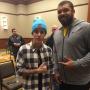 Justin Bieber and Cam Heyward