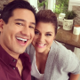 Mario Lopez, Tiffani Thiessen Enjoy Saved By the Bell Mini-Reunion: See the Pic!