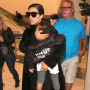 Kim Kardashian Carries North West