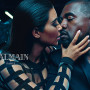 Kim Kardashian, Kanye West Pose For Balmain Campaign: See the Pics!