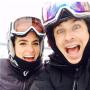 Nikki Reed and Ian Somerhalder on the Slopes