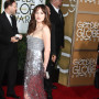 Dakota Johnson at the Golden Globes