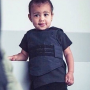 North West in a Vest