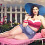 """Artist Satisfies """"Chubby"""" Fetish, Makes Celebrities REALLY Fat: See the Photos!"""