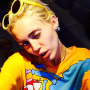 Miley Cyrus Instagram Pose