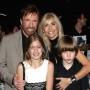 Chuck Norris with Wife, Gena, and Children