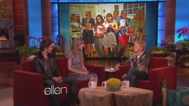 Zac Efron And Taylor Swift On Ellen Youtube