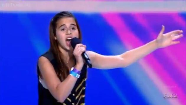 Carly Rose Sonenclar: Feeling Good on The X Factor! - The ...