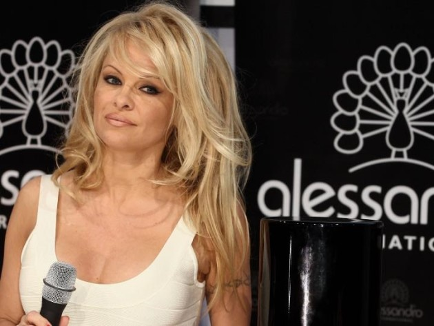 Pamela Anderson Pixie Cut - The Hollywood Gossip