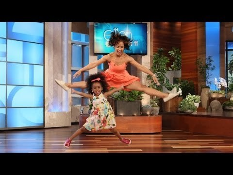 "Totally Adorable Toddler Dances to ""Happy"" on Ellen - The ..."