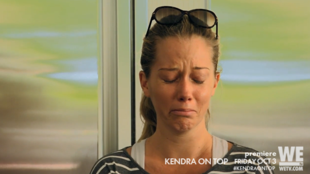 Kendra wilkinson confronts hank baskett in ridiculously scripted