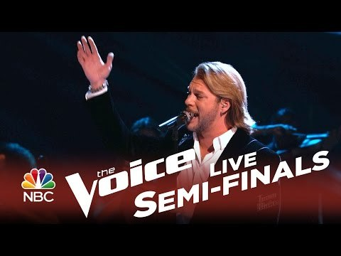 Craig wayne boyd the old rugged cross the voice semifinals the