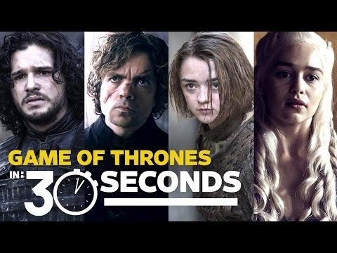 Game of Thrones Cast Recaps Series in 30 Seconds: Blood ...