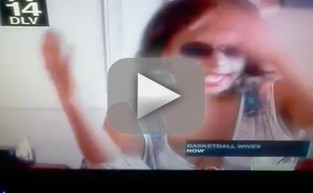 Basketball Wives FIGHT: Jennifer Williams Slapped!