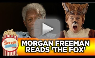 "Morgan Freeman Reads ""The Fox"" by Ylvis"