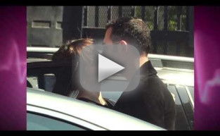 Katherine McPhee and Smash Director Michael Morris Caught Kissing