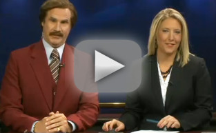 Will Ferrell Anchors Local News as Ron Burgundy