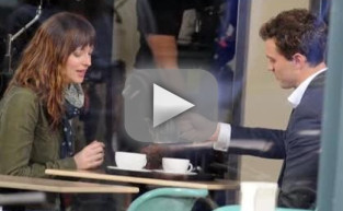 Dakota Johnson and Jamie Dornan Begin Filming Fifty Shades Of Grey