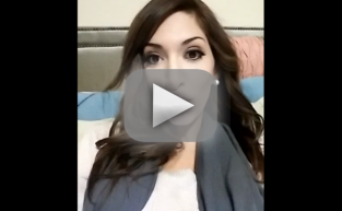 Farrah Abraham Christmas Keek Video
