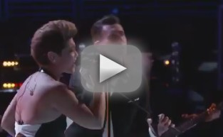 "Tessanne Chin and Adam Levine: ""Let It Be"" - The Voice"