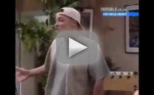 James Avery - Uncle Phil Hug on The Fresh Prince
