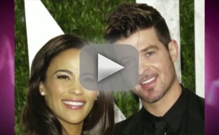 Robin Thicke, Paula Patton Split