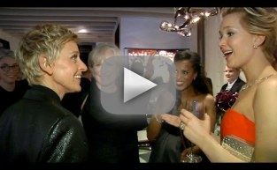 Ellen DeGeneres Takes Viewers Behind the Oscars