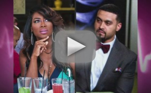 Apollo Nida Slammed For Kenya Moore Ogling